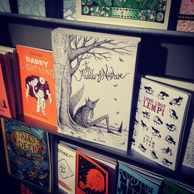 The Middle Of Nowhere in GOSH Comics