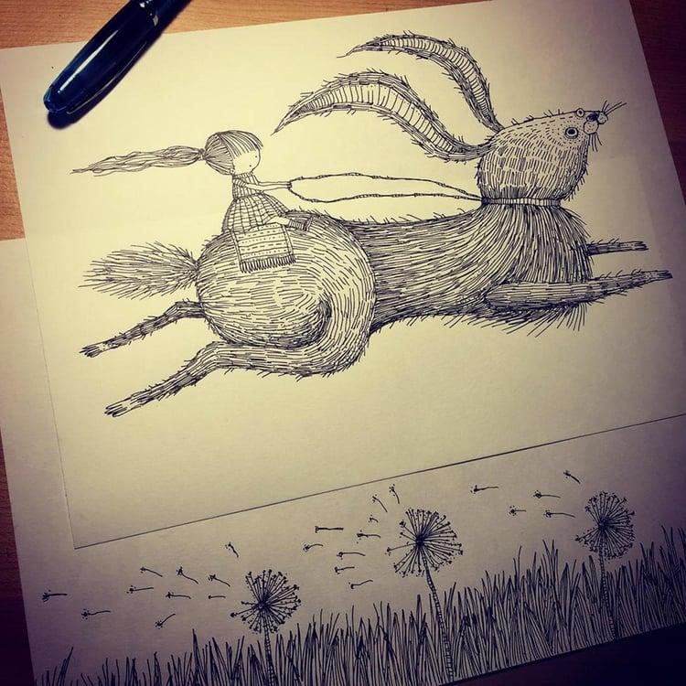 Runaway Drawing