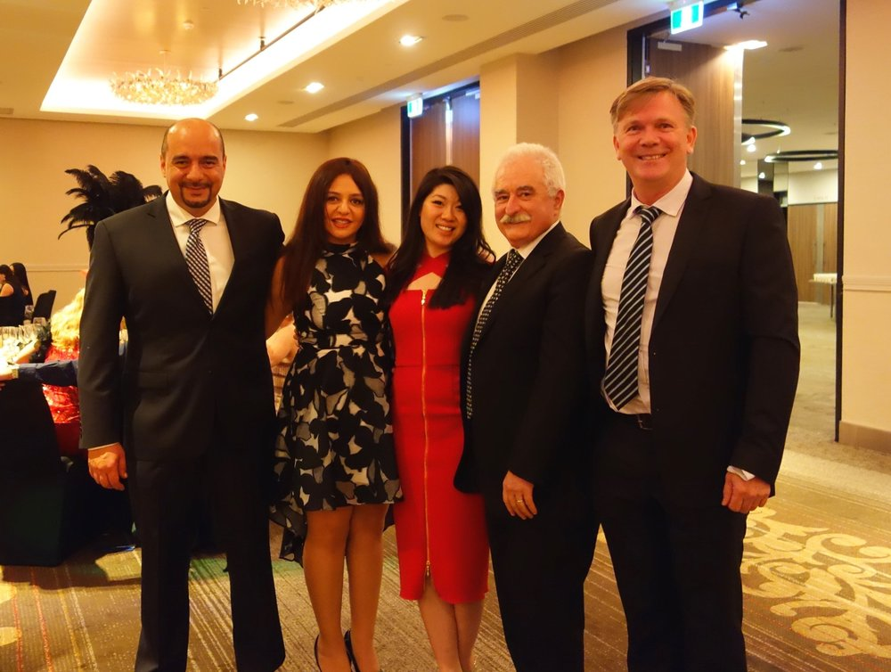 The annual UWA Podiatric Medicine Dinner was held at the Parmelia Hilton.  This night was attended by students, colleagues and my incredible professors and mentors. I respect them for their generous sharing of knowledge, mentorship and friendship. They really have shaped the way I've practiced and supported me along the way.  I've never hesitated sending them an email or giving them a call to run through a patient case or to score a second opinion!  We always want the best outcomes for our patients- So you can imagine what sitting around a dining table involves... discussing cases and what we would do in that scenario.  I've listed their names below FYI.      Featured here (L-R)   Prof Reza Naraghi- Podiatric Surgeon, Lecturer  Dr Sanaz Deghan- Podiatric Surgeon  Prof Laurie Foley- Senior podiatrist Fremantle hospital, Lecturer  Dr Burke Hugo- Podiatric Surgeon, Lecturer  Our head of school Prof Alan Bryant and Dr Jenny Bryant (Both Podiatric Surgeons) not photographed.