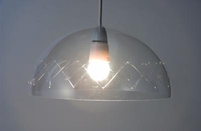 Plastic lampshades kaniez abdi clear cross lampshade aloadofball Images