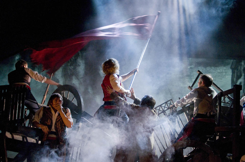 """""""Barricades"""" from """"Les Miserables""""-Photo by Michael Le Poer Trench"""