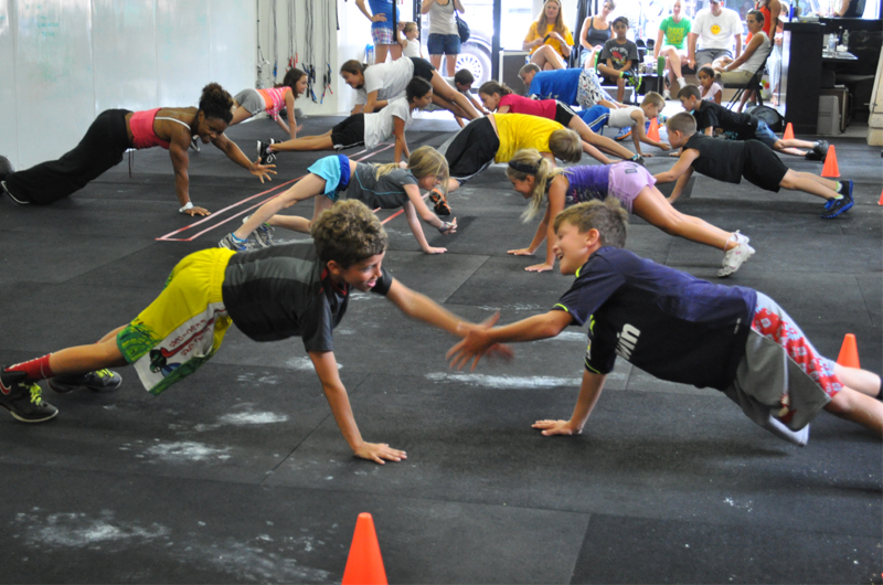 Lancement De Crossfit Kids