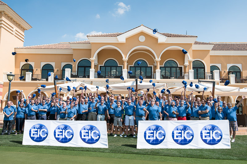 Golf Tournament at The Els Club, Dubai
