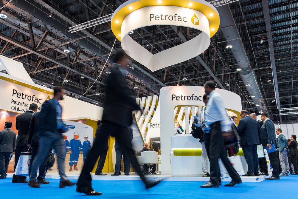 Petrofac Stand: ADIPEC