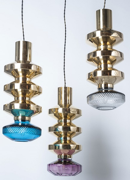 Babylon Brutale Pendent Lights by Martin Huxford