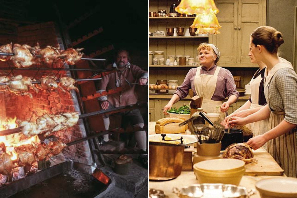 In-The-Kitchen+Henry-VIII+Downton-Abbey