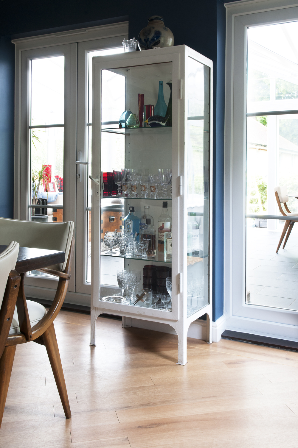 Tunbridge Wells Dining Room Design by Smartstyle Interiors - Pharmacy Drinks Cabinet.jpg
