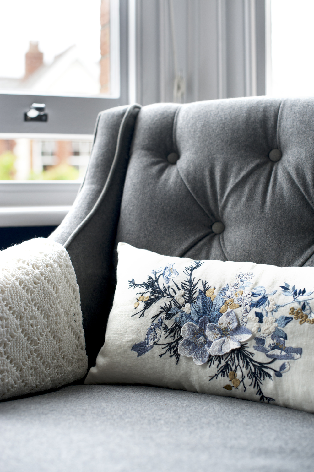 Tunbridge Wells Master Bedroom Design by Smartstyle Interiors – Chair Detail.jpg