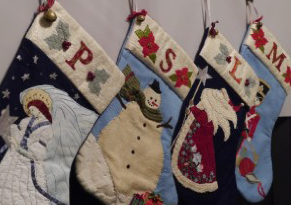 It's all about the Homemade Christmas stockings