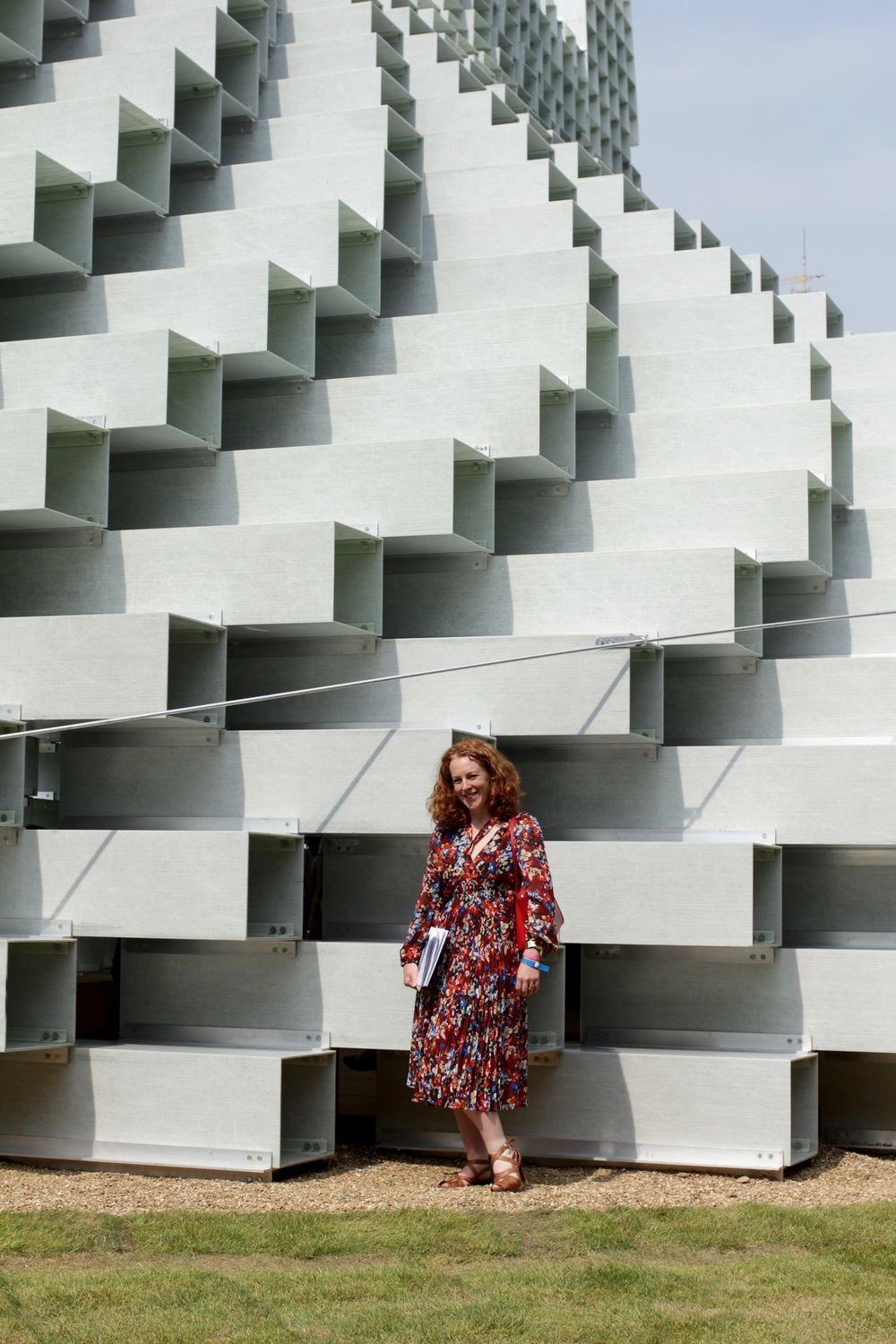 Phoebe Oldrey of Smartstyle Interiors at the Serpentine Pavilion.jpg
