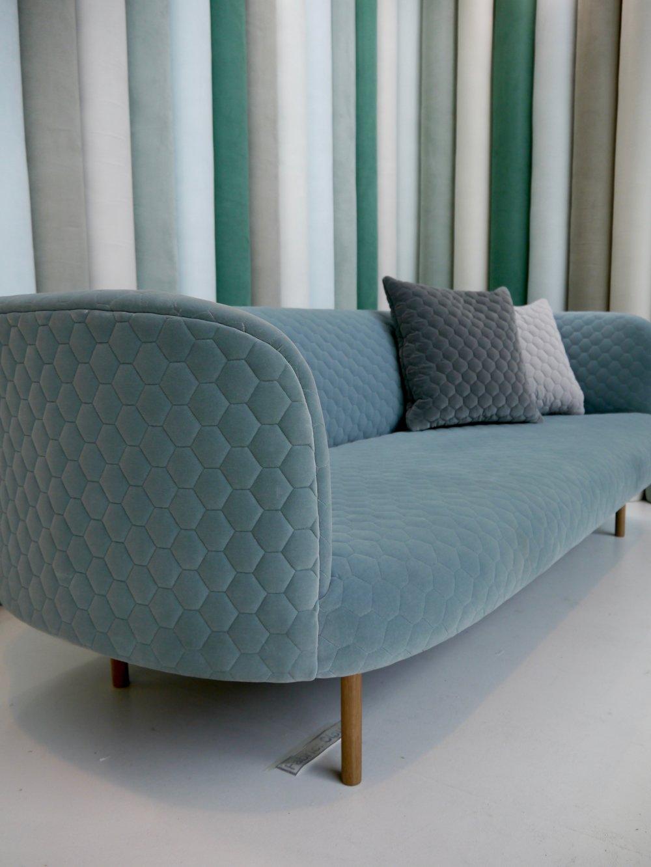 Kirkby Design Cloud FR 3d Quilted Velvet at London Design Festival 2016 by Smartstyle Interiors.jpg