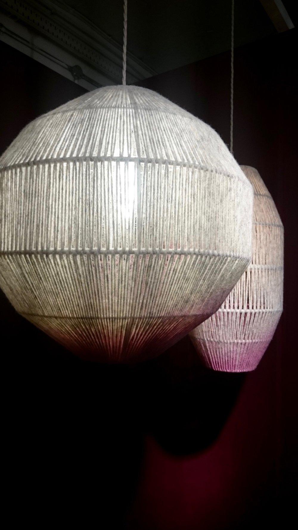 Janie Knitted Textiles Pendants at London Design Festival 2016 - Smartstyle Interiors.jpg