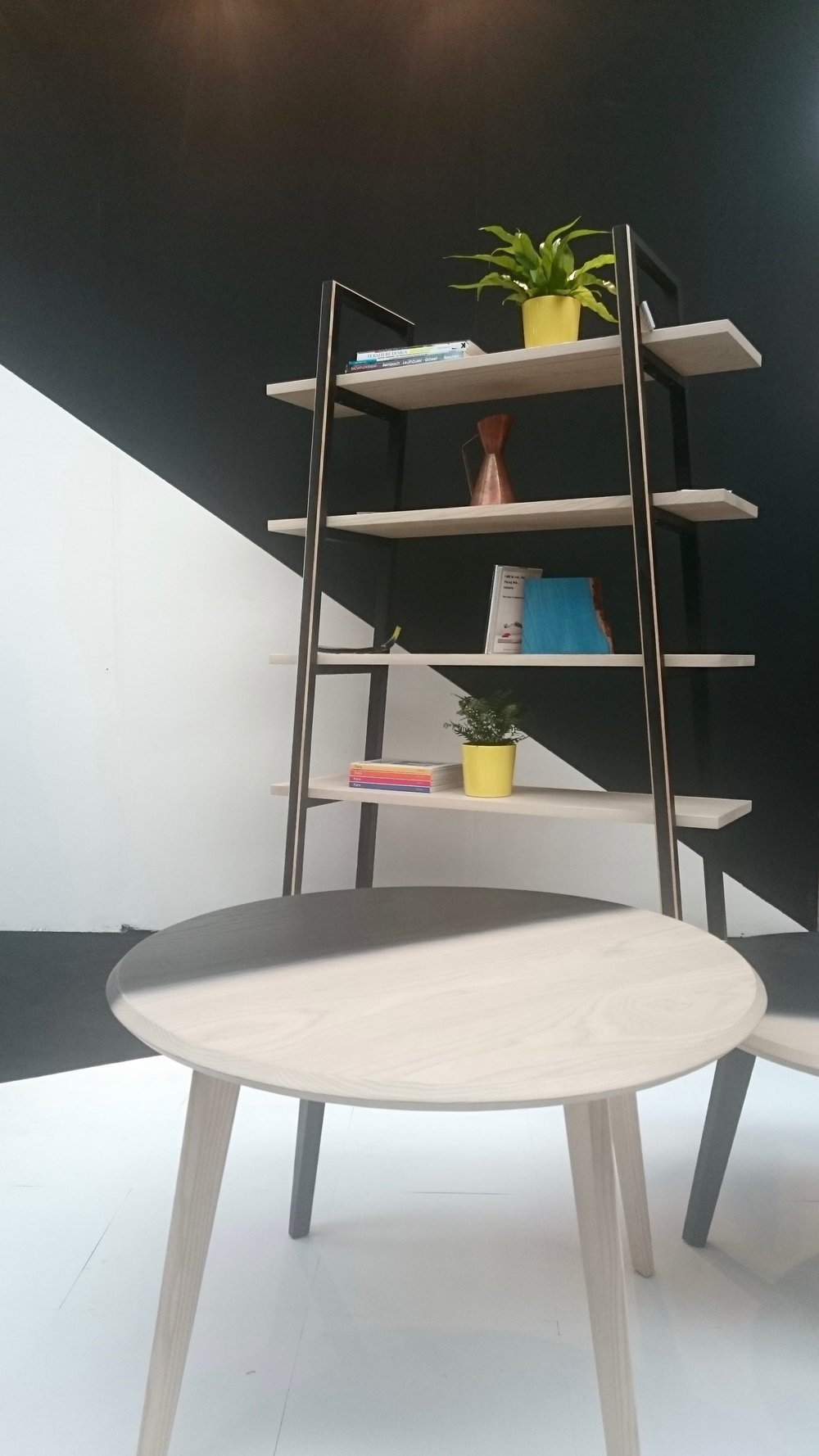 Alexander Mueller Wood Table and Bookcase at London Design Festival 2016 - Smartstyle Interiors.jpg