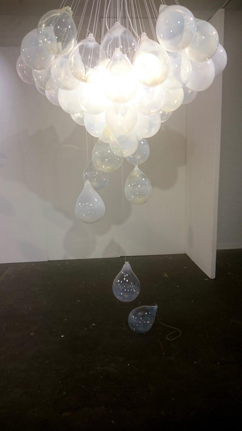 Matteo Gonet Glassworks Balloon Chandelier at London Design Festival 2016.jpg