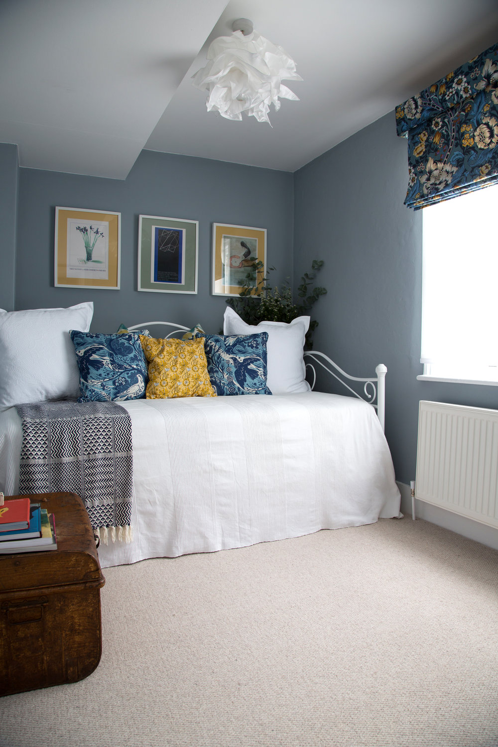 A Bright Bedroom in a Grade II Listed Holiday Home in Battle East Sussex – Interior Design by Smartstyle Interiors