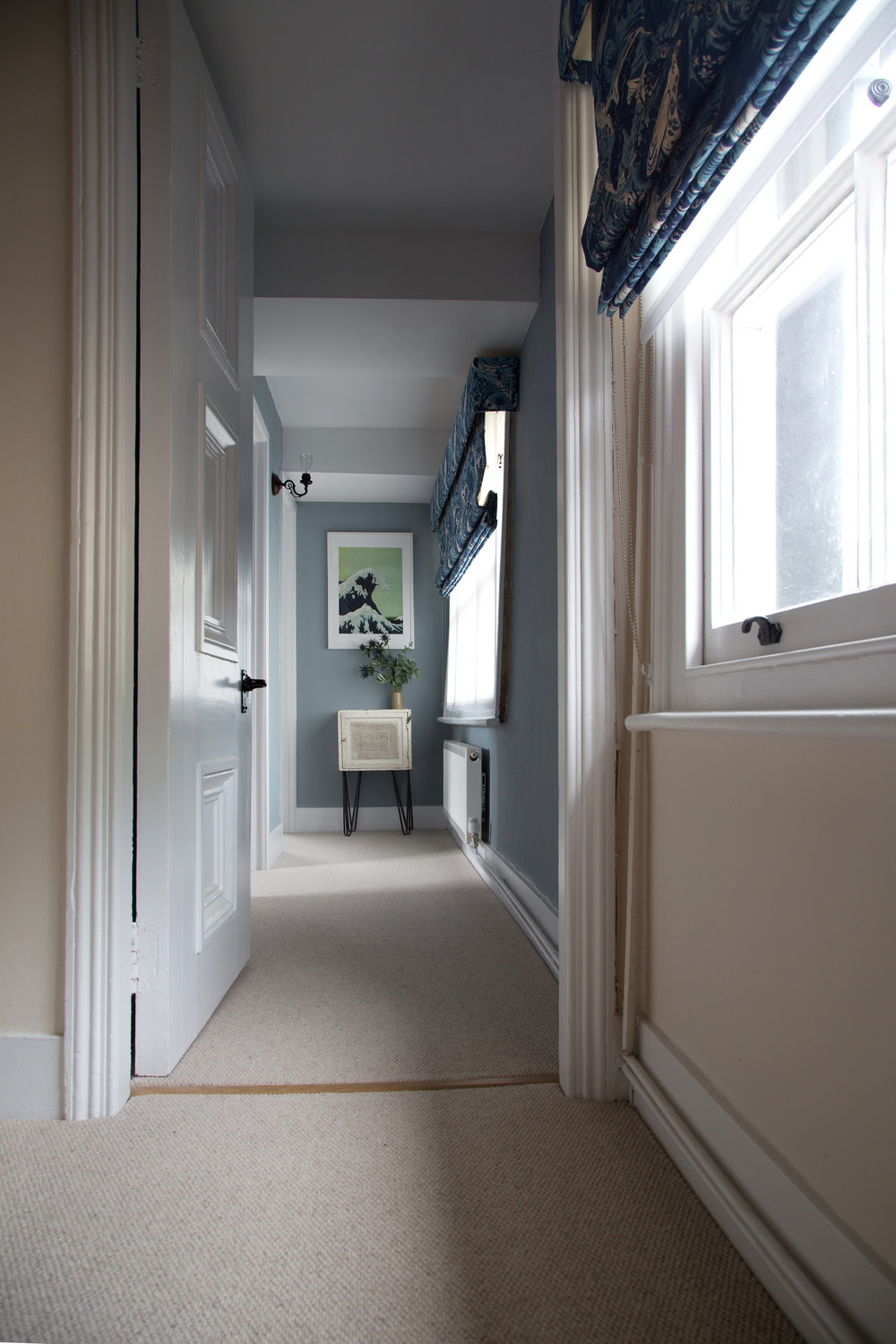 A Light-Filled Hallway in a Grade II Listed Holiday Home in Battle East Sussex – Interior Design by Smartstyle Interiors
