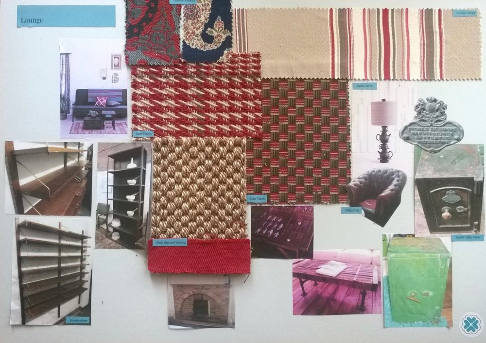 Interior Design Vision Board for a Holiday Home in Battle East Sussex by Smartstyle Interiors 2