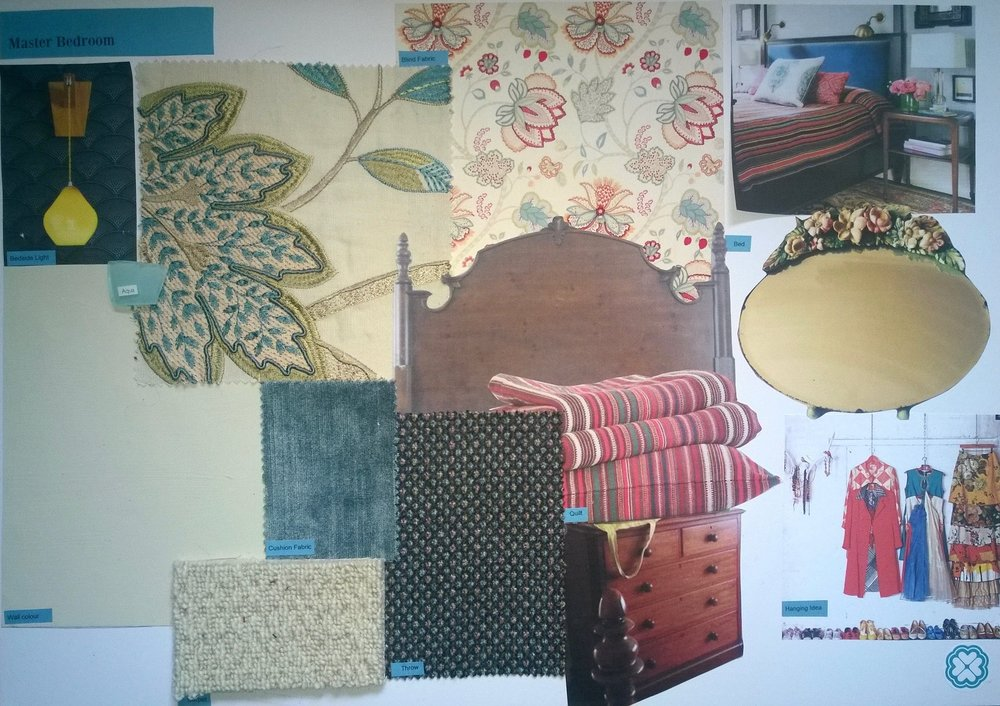 Interior Design Vision Board for a Holiday Home in Battle East Sussex by Smartstyle Interiors 3