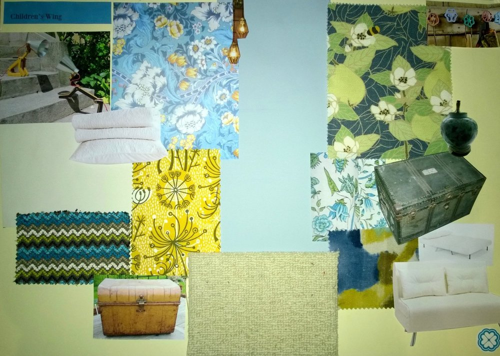 Interior Design Vision Board for a Holiday Home in Battle East Sussex by Smartstyle Interiors 4