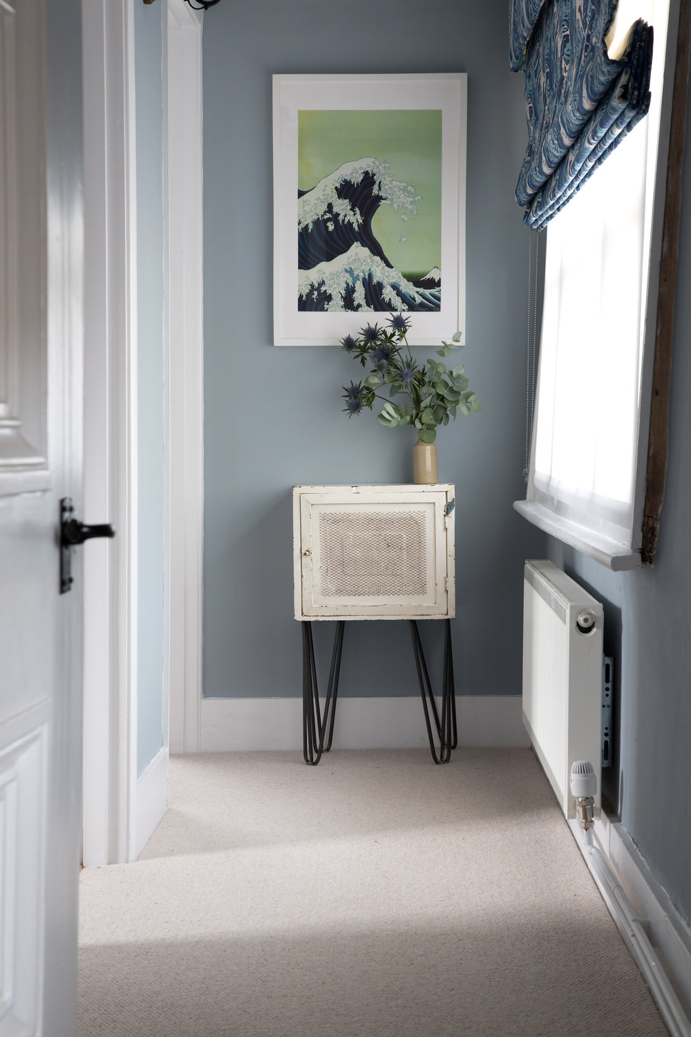 Unique Pin Leg End Table in a Beautiful Grade II Listed Home in Battle East Sussex – Interior Design by Smartstyle Interiors