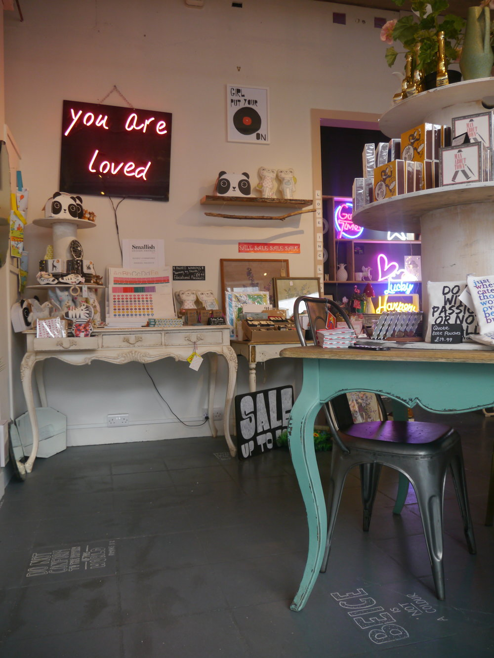 Design On My Doorstep - Love Inc You Are Loved LED Neon Light for the Home – By Smartstyle Interiors.JPG