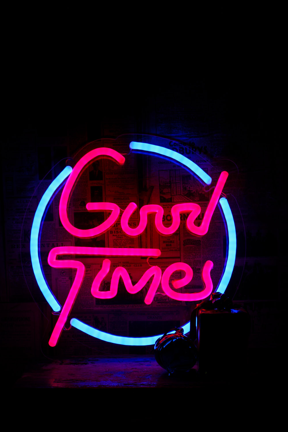 Love Inc Good Times Neon Sign – Christmas Gift Guide by Smartstyle Interiors.jpg