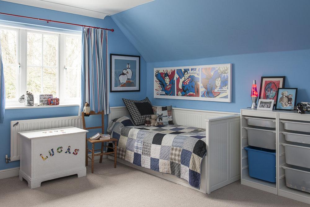 BEFORE - A bright children's room in Tunbridge Wells Kent - Interior Design by Smartstyle Interiors