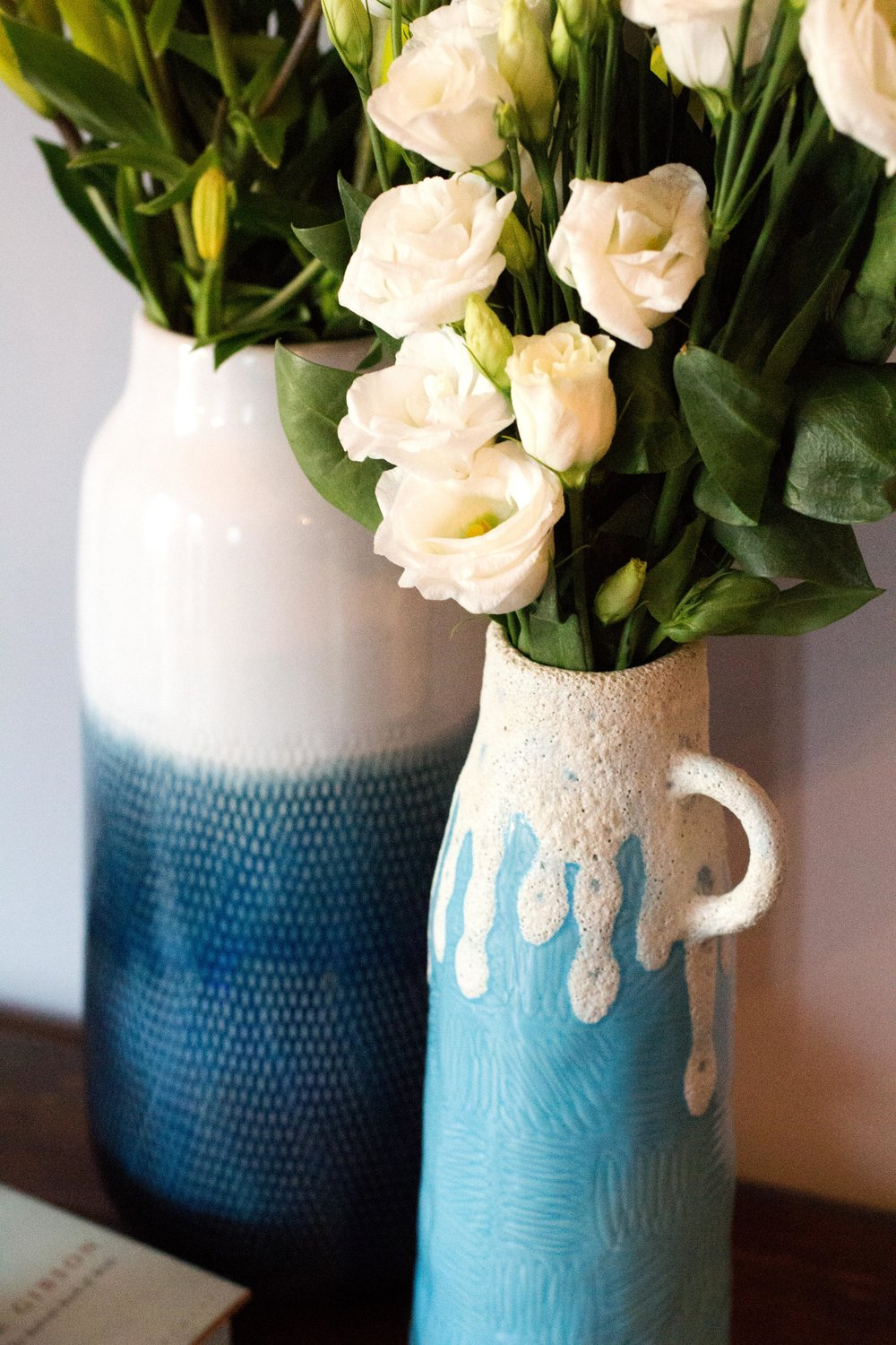Add-modern-Habitat-vases-to-your-vintage-ceramics-collection-for-a-fun-updated-look---Interior-Design-by-Smartstyle-Interiors