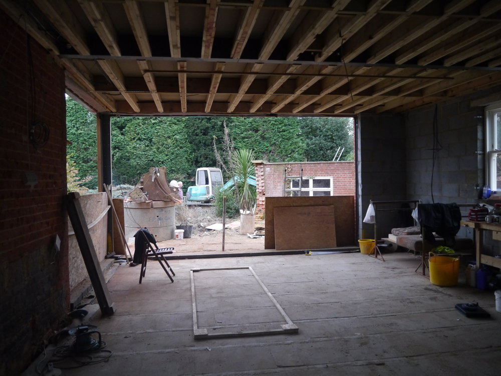 Onsite picture of family kitchen in sevenoaks