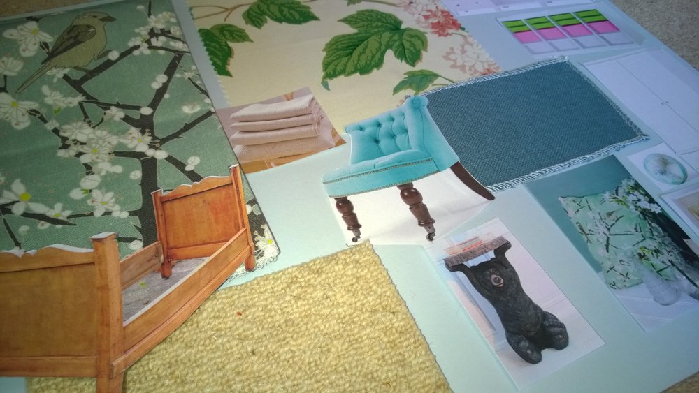 Concept Designs for Girls Rooms