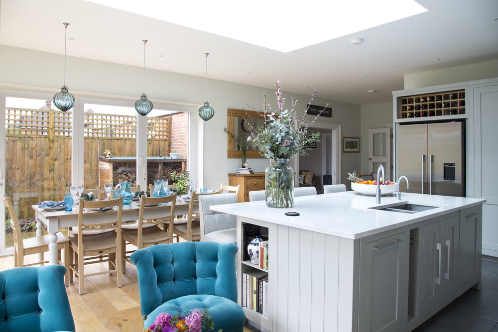 Family Kitchen in Sevenoaks Kent designed by Smartstyle Interiors
