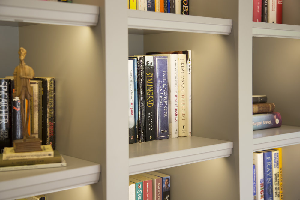 Bespoke Bookcase for Sevenoaks Interior Design Client