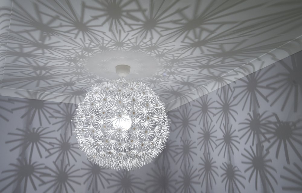 Light fitting in one of Smartstyle Interiors projects