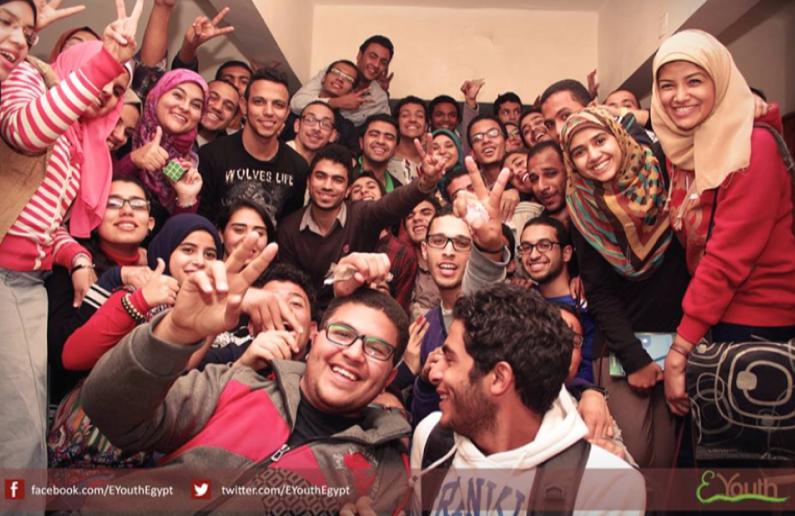 Group photo after Assuit Camp 2