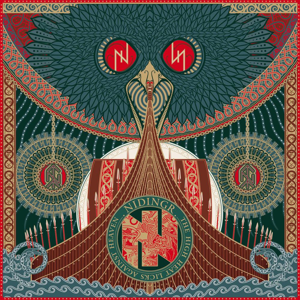 Nidingr - The High Heat Licks Against Heaven artwork