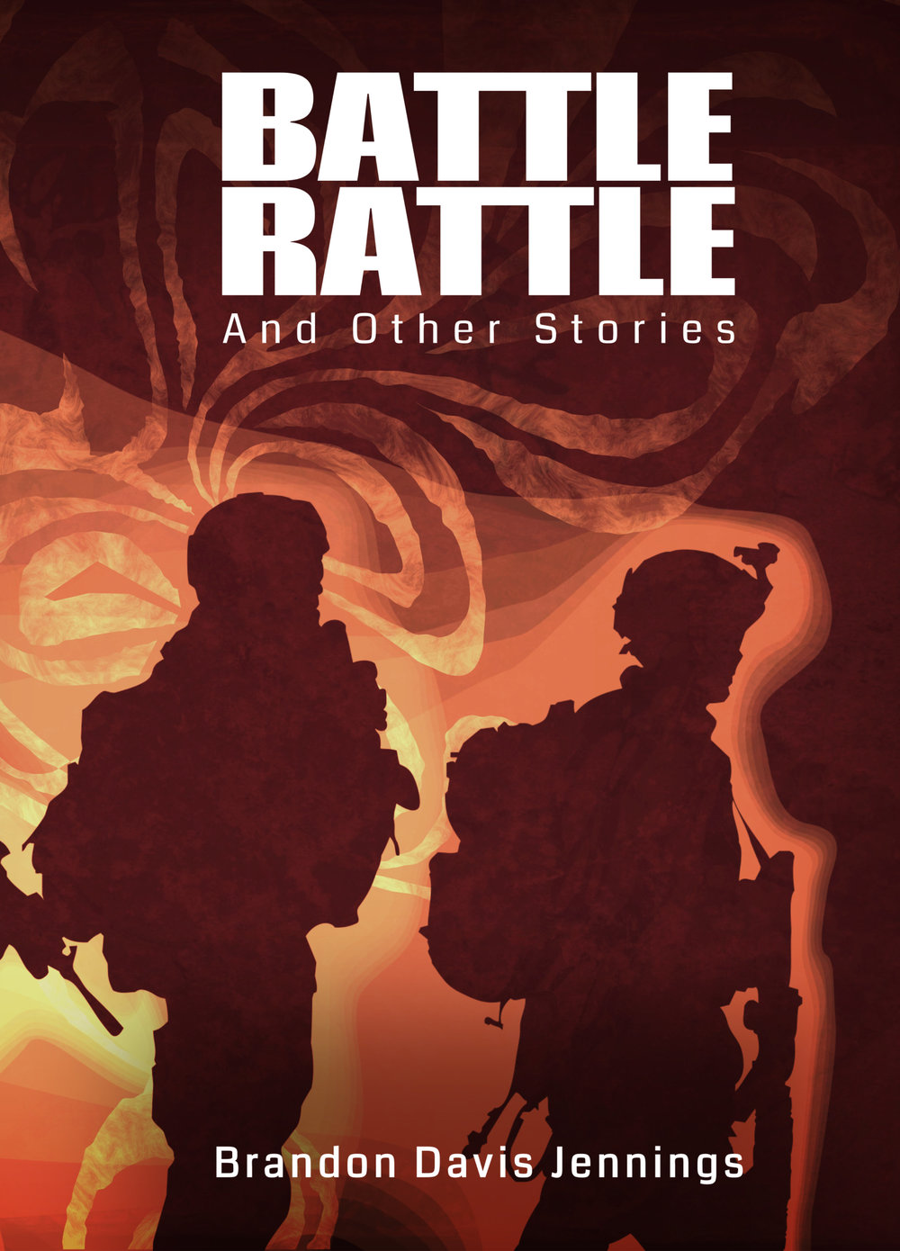 Cover of Battle Rattle And Other Stories by Brandon Davis Jennings