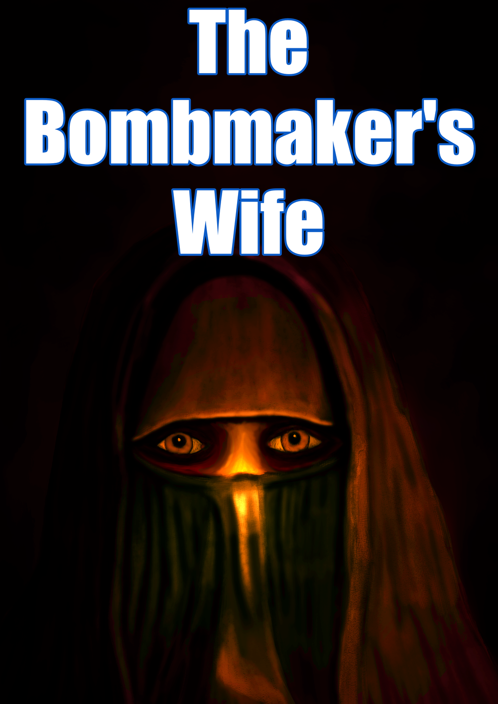 An alternate cover for The Bombmaker's Wife