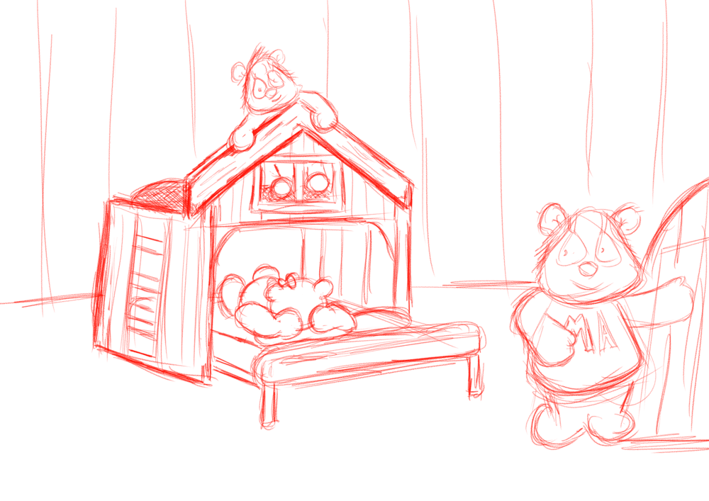 Pinky and Dozer Bunk Bed.png