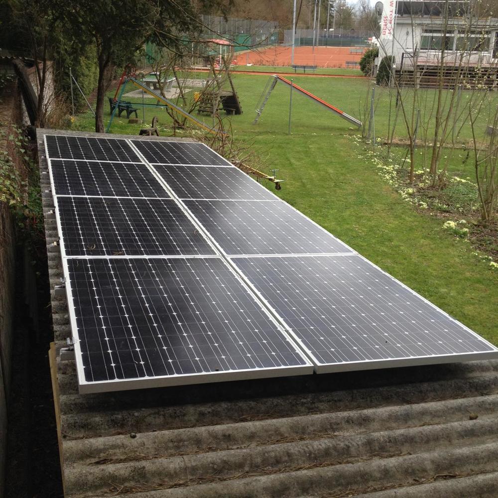 Solaranlage beim QTT