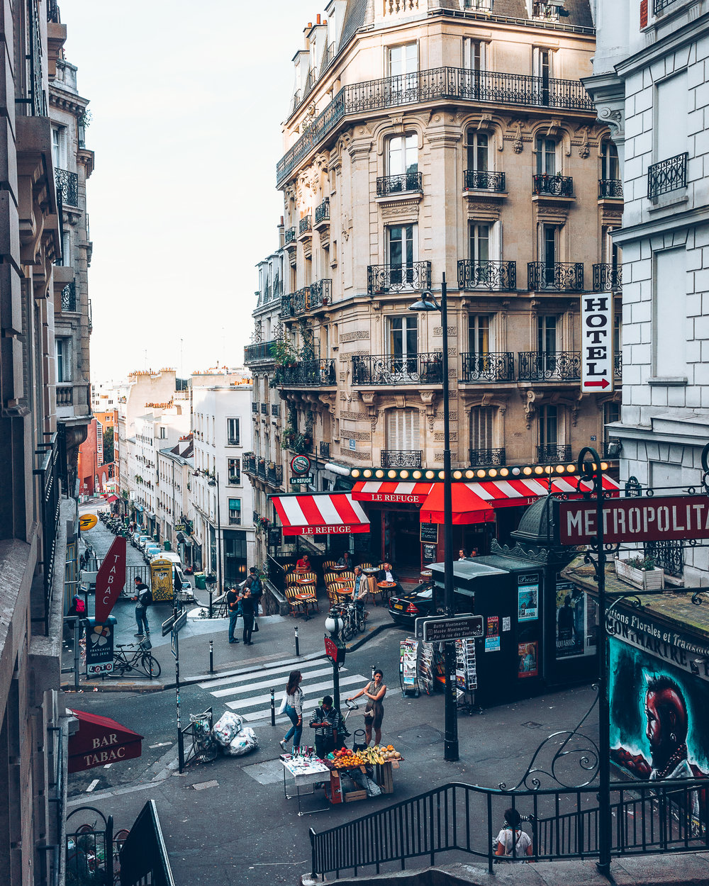 Parisian street life during the #DxOOneTrip, shot with the @dxoone camera