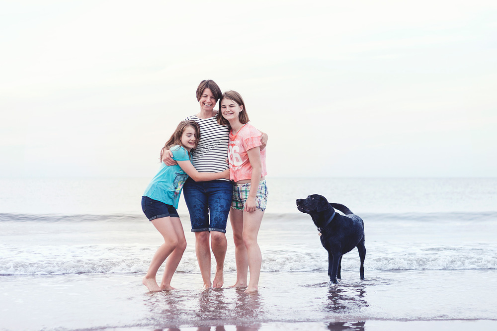 © Esther Wild Photographer. Brancaster Beach Family Photography Session.