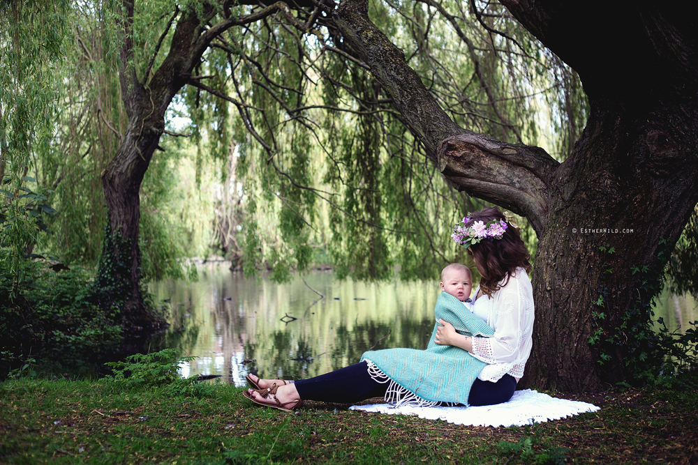 © Esther Wild Photographer, Kings Lynn and West Norfolk. Breastfeeding New Baby Photo Session