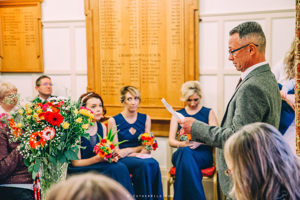 © Norfolk Wedding Photography Cromer Rocket House Registry Sea Beach Esther Wild Photographer (237).jpg