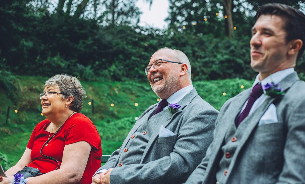 """I just had to commend you from the bottom of my heart on what you've done. The photographs are absolutely incredible and you clearly have a very rare talent. Several pictures have had me in tears [of joy]""    ~ Philip Marchant - Father of the Groom"