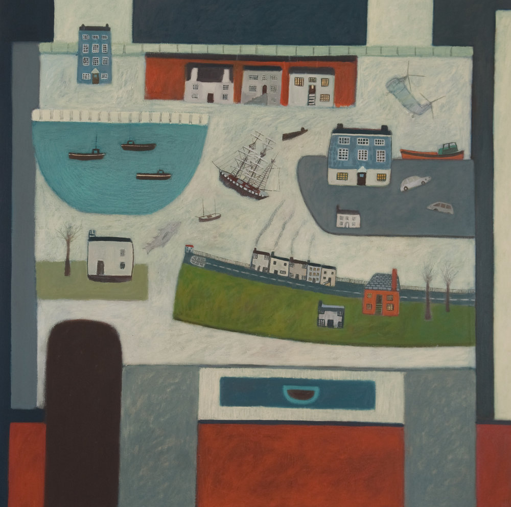 A Cornish Village - Sold