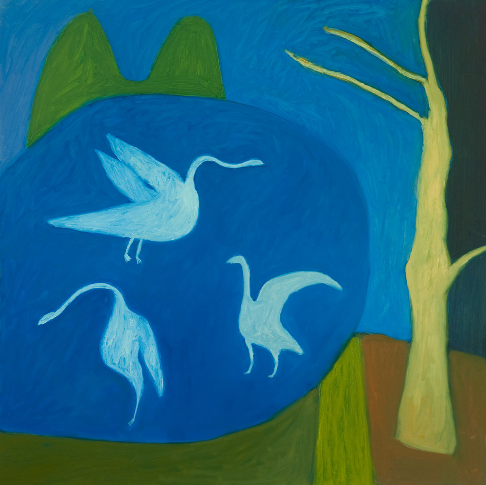 Night Swans - Sold