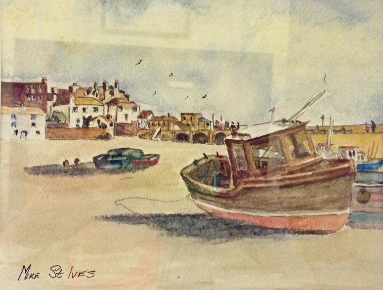 Mike'e seascape-St Ives