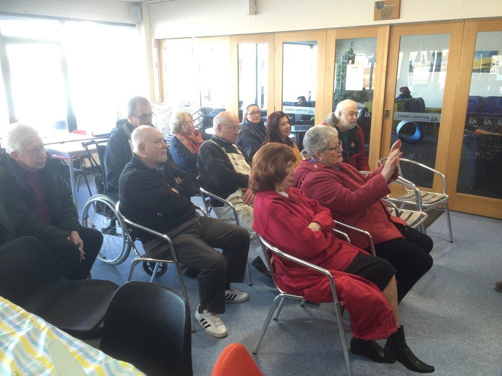 Memberes watching.JPG