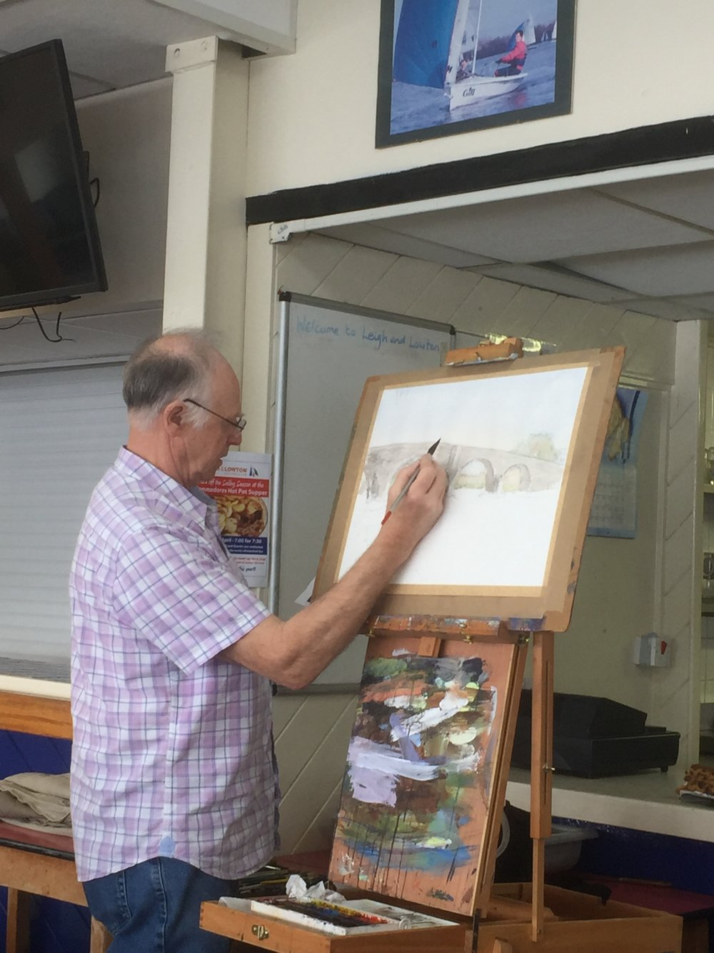 Steve painting.JPG