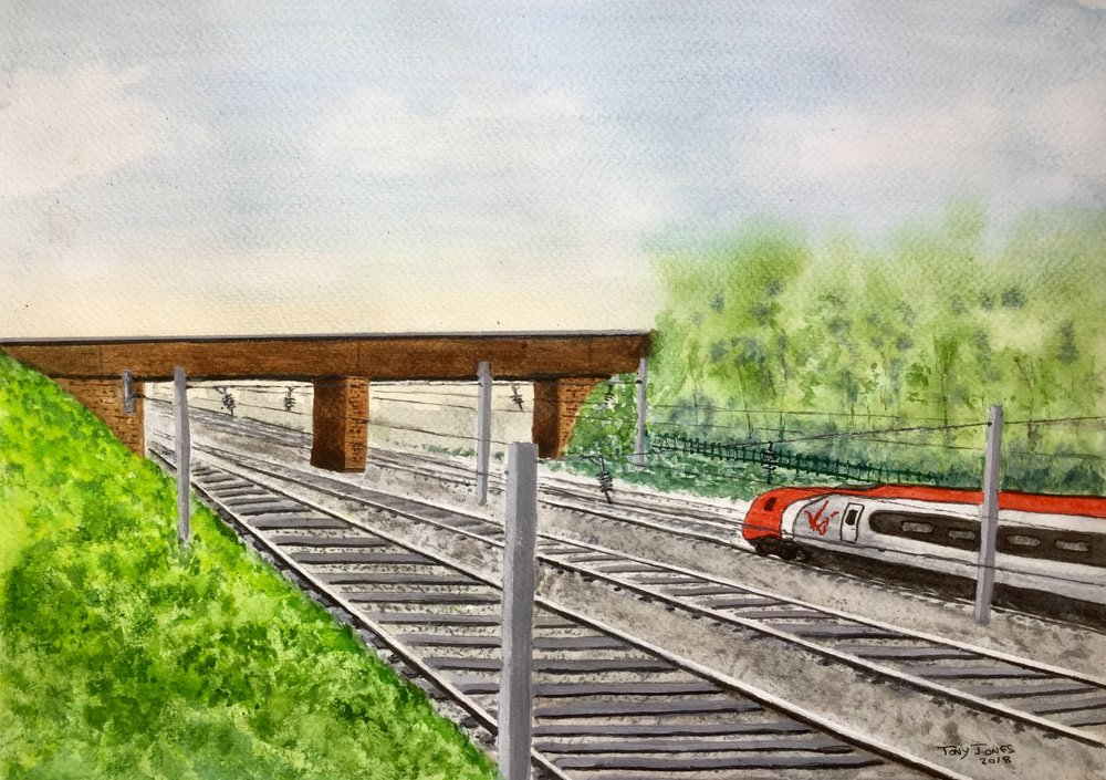 Golborne station new.jpg